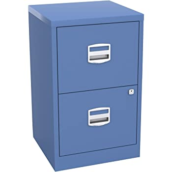 Bisley Home Filer A4 672x413x400mm Metal Filing Cabinet   Blue