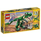 LEGO 31058 Creator 3-in-1 Mighty Dinosaurs Building Set, Fun Construction Toy for Kids