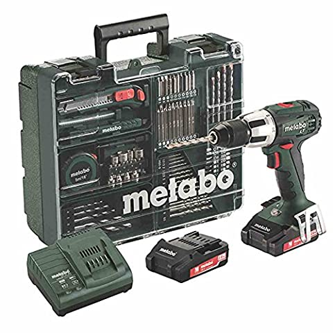 Metabo SB 18 LT Set mobile Atelier, 18 V/2,0 Ah,