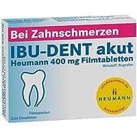 Ibu-dent akut Heumann 400 mg, 20 St. Filmtabletten preisvergleich bei billige-tabletten.eu