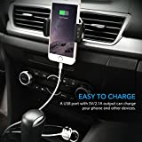 New-Release-3-in-1-Bluetooth-41-FM-Transmitter-Car-Mount-Car-Charger-Air-Vent-Adjustable-Cradle-Phone-Holder-Radio-Transmitter-Wireless-Bluetooth-Car-Kit-with-5V21A-Fast-Charging-USB-Port-Built-in-Mic