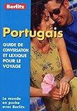 Guide de conservation et lexique pour le voyage : Portugais