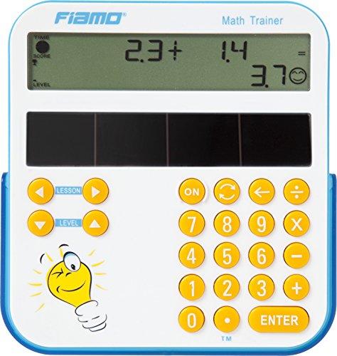 Fiamo Einzigartiges pädagogisches Lehrmittel Mathtrainer Lernwerkzeug, das speziell für Kinder ab 5 Jahren konzipiert wurde, weiß