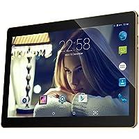 "10.1 Inch 3G Tablet Android 6.0 Quad Core, 32GB ROM 2GB RAM Unlocked Phone Call Phablet PC with Dual Sim Card Slots, GPS, WIFI, Bluetooth, Camera-Qimaoo 10.1"" K4 Tablet Pad"