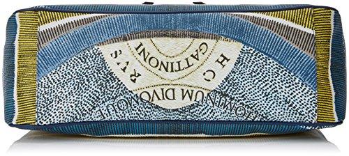 GATTINONI Gacpu0000095, sac bandoulière Blu (Luna)