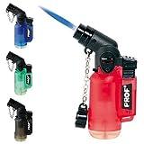 Jet Lighter - das Ultrakompakte Gasbrenner Feuerzeug hält jedem Sturm stand! Diverse Farben/Formen; Wiederaufladbar! Torch Lighter 1x Vergleich