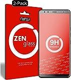 nandu I ZenGlass [2 Stück] Flexible Glas-Folie für HTC U12 Plus Panzerfolie I Bildschirm-Schutzfolie 9H I (Kleiner Als Das Gewölbte Bildschirm)