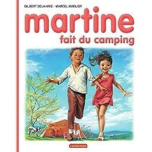 Martine fait du camping