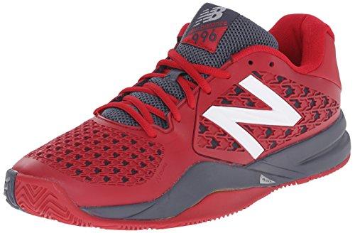 New Balance Mens 996v2 Tennis Shoe Red/Grey