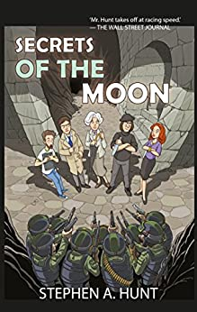 Secrets of the Moon (The Season One Omnibus of The Agatha Witchley Mysteries) (In The Company of Ghosts Book 4) by [Hunt, Stephen A.]