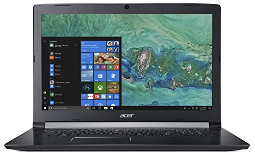 Acer Aspire 5 A517 51 5385 439 cm 173 Zoll entire HD IPS multimedia models Notebook Intel center i5 8250U 8GB RAM 256GB SSD Intel HD Win 10 schwarz Notebooks