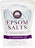 TWO PACKS of Elysium Spa Epsom Salts Lavender 450g