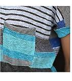 Womens V-neck Casual Short Sleeve T-shirt Blouse Tees Tops
