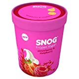 Snog Strawberry & Raspberry Frozen Yogurt, 450 ml