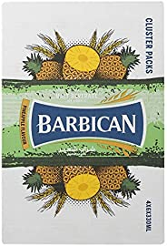 Barbican Pineapple Flavour Non Alcoholic Malt Drink in Glass Bottle, 24 x 330 ml