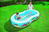 Bestway Planschbecken Clownfish Lagoon Family Pool, 262 x 157 x 46 cm -