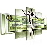 Quadro Figure astratte 200 x 100 cm - XXL Immagini Murale Stampa su Tela Decorazione da Parete Pronte per l'applicazione - 302351c