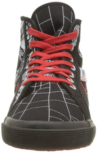 Superga Cartoon 2095-Spiderman Fancobu, Chaussures Homme Multicolor (984 Spiderman comics)