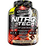 Muscletech Nitrotech Performance Aroma Toasted S'More - Proteine in Polvere Confezione da 1.8 kg