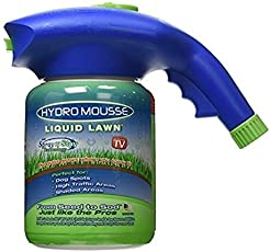 Pinkdose® White: Dropshiping Seed Sprinkler Liquid Lawn System Grass Seed Sprayer Plastic Watering Can Quick and Easy Sprayers Garden Tool