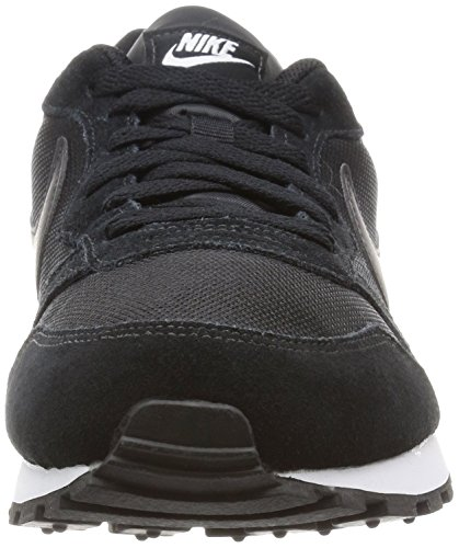 Nike MD Runner 2, Scarpe da Donna Nero (Black/Black-White)