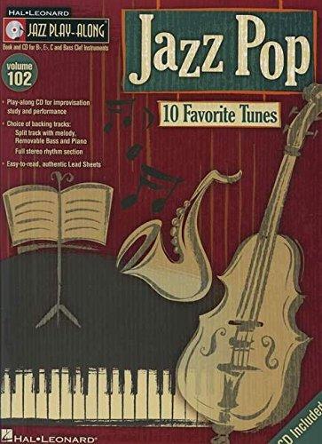 Jazz Pop: Noten, CD für Instrument(e) (Hal Leonard Jazz Play-Along, Band 102)