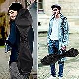 Enkeeo Waveboard mit Tasche und Leuchtrollen, bis 99kg belastbar -