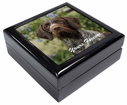 Advanta - Jewellery Boxes Deutsche Wirehair Pointer 'Yours Forever' Andenken/Schmuck Box Weihnachten Geschenk (Pointer German Wirehair)