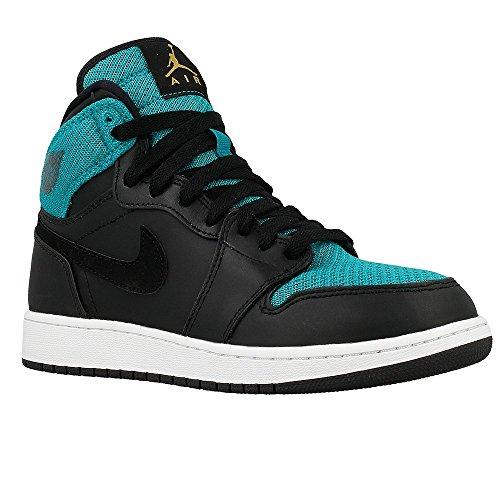 Nike 332148-011, Chaussures de Sport Fille Noir
