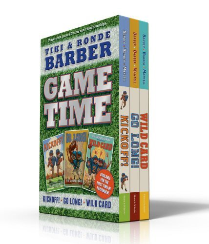 game-time-kickoff-go-long-wild-card-barber-game-time-books-by-tiki-barber-2010-08-31