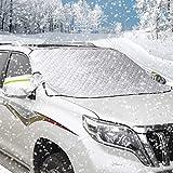 AUTSCA Pare-Brise Couverture Pare-Brise Voiture Pare-Neige SUV, Couverture de Gel, Pare-Brise Couverture Anti-Givre, Glace poussière Rayon de Soleil, imperméable à l'eau (192 * 123cm)