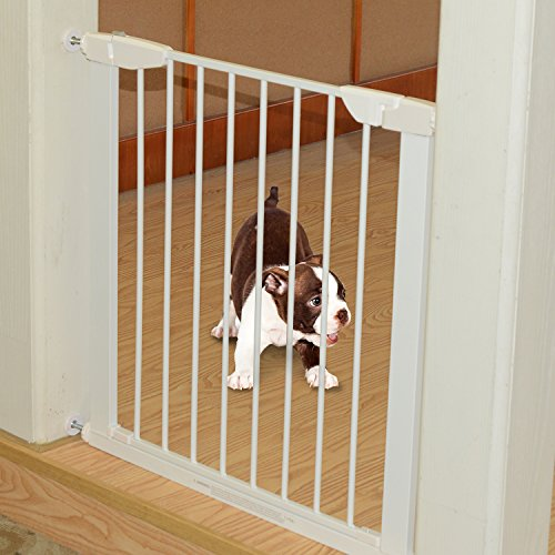 PawHut Retractable Safety Gate Dog ...
