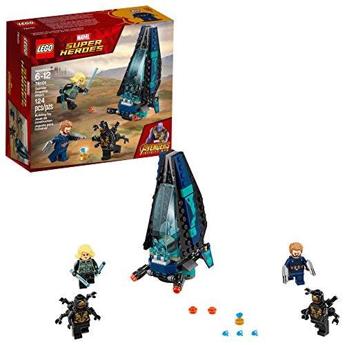 LEGO Marvel Super Heroes Avengers: Infinity War Outrider Dropship Attack 76101 Bausatz (124-teilig)