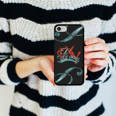 Apple iPhone X Silikon Hülle Case Schutzhülle Sexy Cool Spruch Hard Case schwarz