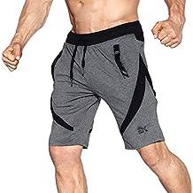 65080c8356 Zenwow - Pantalones Cortos de Deporte para Hombre