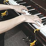 Paracity professionnel en acier inoxydable pianiste Piano Main Orthoses poignet Bretelles pour exercices type Gesture outils de Correcteur pour les débutants