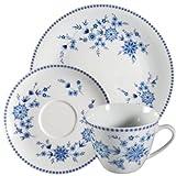 Seltmann Weiden Doris Bayerisch Blau Kaffeegedeck 3 tlg.