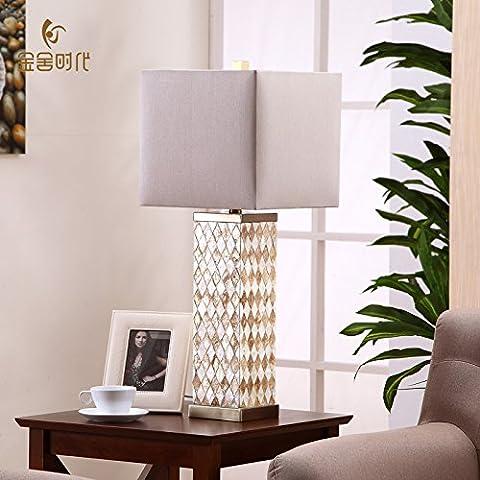 Dngy*Creativa Americana lampade gusci moderno minimalista chic soggiorno camera da