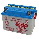 Yuasa YB4L-B Batteria per Motocicletta, 120x70x92 mm, 12V- 4Ah, 1.3 kg- acido non incluso