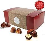 Belgische schokolade – pralinenschachtel mit milch und zartbitterschokolade, trüffel, cremige Ganache. DuPont Chocolatier – perfekten schokoladen geschenkpackung für geburtstage,valentinstag geschenke