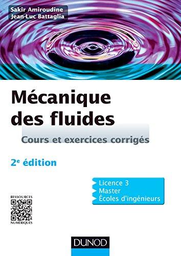 En ligne Mécanique des fluides - 2e édition : Cours et exercices corrigés (Physique) pdf, epub ebook