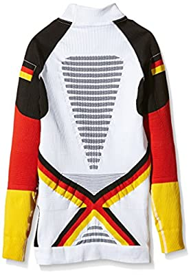 X-Bionic Erwachsene Funktionsbekleidung Ski Man Patriot Acc Evo UW Shirt LG_LS Turtle Neck