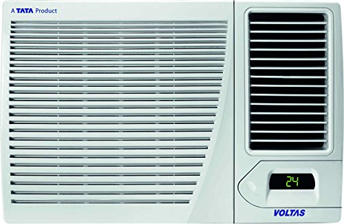 Voltas 1 Ton 3 Star  Window AC (Copper, 123 LZF, White)