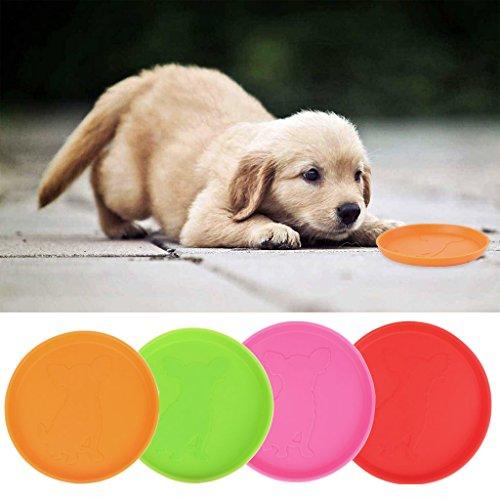 FURU Pet Hund Gummi Flying Discs interactivetooth beständig Outdoor Training Spielzeug