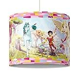 PPS. Imaging Luminaire Design Mia and me - Lampshade Unicorns, Dimension: 34cm x 40cm