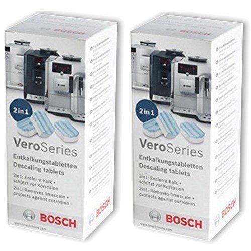 Bosch Original 311821 Détartrage Comprimés Verobar Verocafe Machine à Café Lot de 3
