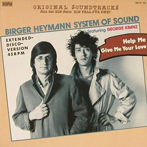 Birger Heymann's System Of Sound Featuring George Kranz - Help Me (Extended Disco Version) - Bellaphon - 120.07.181 Jason Kranz
