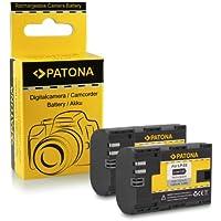2x Batería LP-E6 para Canon EOS 5D Mark II / 5D Mark III   EOS 7D   EOS 60D / 60Da