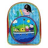 Peppa Pig Bag - Mochila infantil multicolor George Pirate Ship Por Defecto