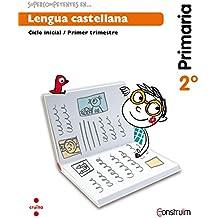 Supercompetents en... Lengua castellana. 2 Primaria, 3 Trimestre. Construïm. Cuaderno - 9788466137874